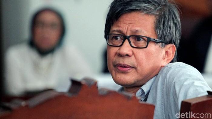 Rocky Gerung/Foto: Lamhot Aritonang/DOK.detikcom