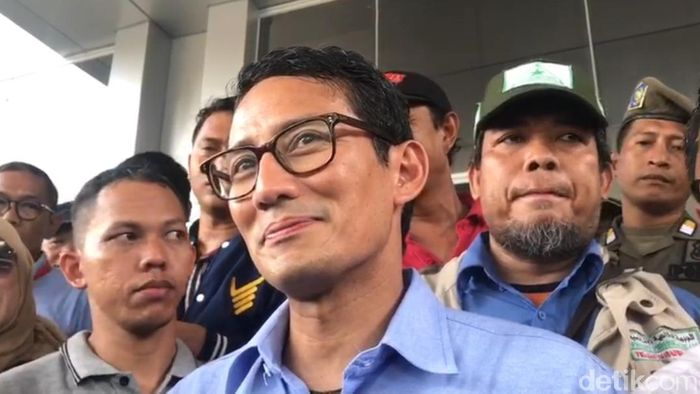 Foto: Sandiaga Uno (Farih Maulana/detikcom)