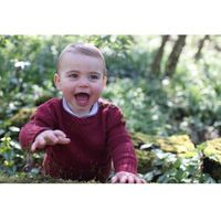 OOTD Pangeran Louis di foto resmi ulang tahun-nya yang pertama