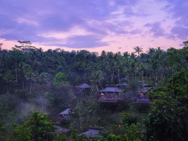 Hotel baru pertama 2019 yang akan diprediksi akan hits adalah Capella Ubud di Bali. Berlokasi di dalam hutan, resort ini menawarkan penginapan bergaya tenda seperti zaman dulu (Capella Hotels & Resorts)