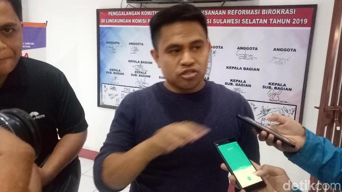 Ketua KPU Makassar Farid Wajdi (Ibnu-detikcom)