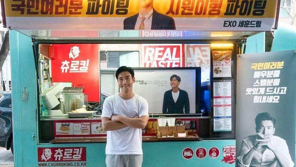 Syuting My Fellow Citizens, Siwon SuJu Dapat Food Truck dari Sehun EXO