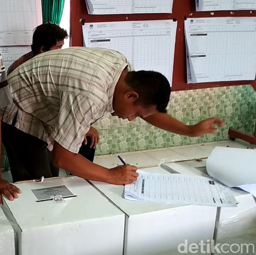 Hitung Ulang 2 TPS di Blitar yang Dituduh Gelembungkan Suara Sudah Final