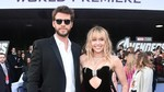 Wajah Bahagia Miley Cyrus dan Liam Hemsworth di Red Carpet Endgame