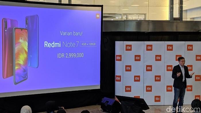 Redmi Note 7 punya varian baru. (Foto: Adi Fida Rahman/detikINET)