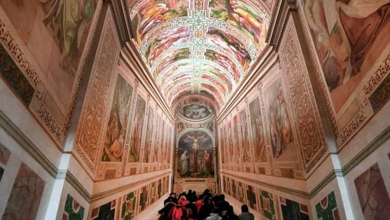 The Scala Sancta (CNN/TIZIANA FABI/AFP/AFP/Getty Images)