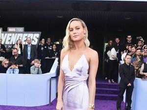 Adu Gaya Brie Larson dan Scarlett Johansson Tampil Seksi di Premier Avengers