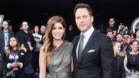 Chris dan Katherine tampak sangat serasi di acara tersebut. Alberto E. Rodriguez/Getty Images for Disney