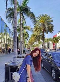 Jadi lebih cantik mana, Blackpink atau Santa Monica Beach? (sooyaaa__/Instagram)