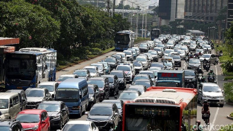 Sudah Ada MRT, Jalan Sudirman-Thamrin juga Masih Macet