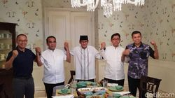 Sandiaga Konsolidasi dengan Sekjen Koalisi Indonesia Adil Makmur