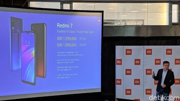 Redmi 7 Resmi Dirilis di Indonesia, Ini Harganya