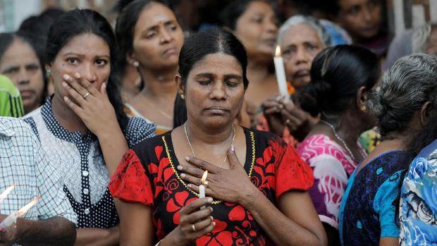 Warga Sri Lanka mengheningkan cipta untuk korban bom Paskah