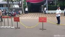 Ada Mesin Detektor hingga Parkir Khusus Tamu Rumah Prabowo di Kertanegara