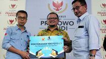 Ruang Sandi Serahkan Ribuan Foto C1 ke BPN Prabowo-Sandiaga