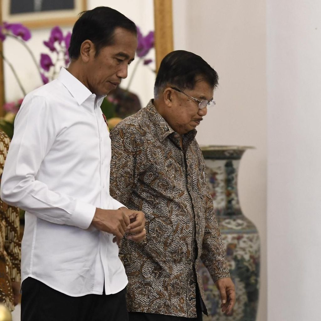 Jelang Pelantikan, Jokowi Ajak JK dan Kabinet Kerja Jilid I Makan-makan