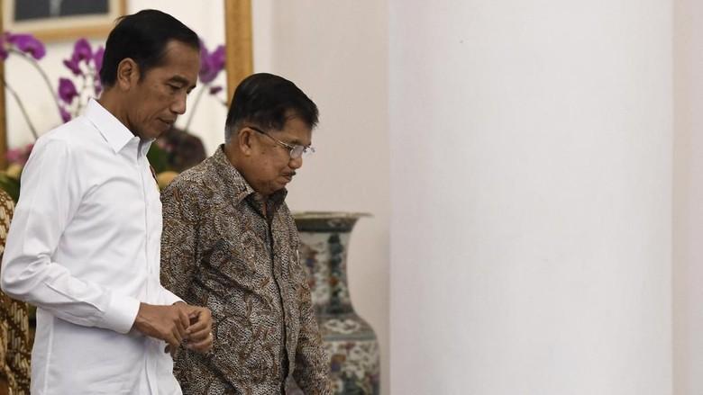 Jokowi Ngevlog Bareng JK, Ngobrol soal Lebaran hingga Cucu
