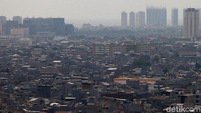 Ilustrasi permukiman di DKI/Foto: Agung Pambudhy