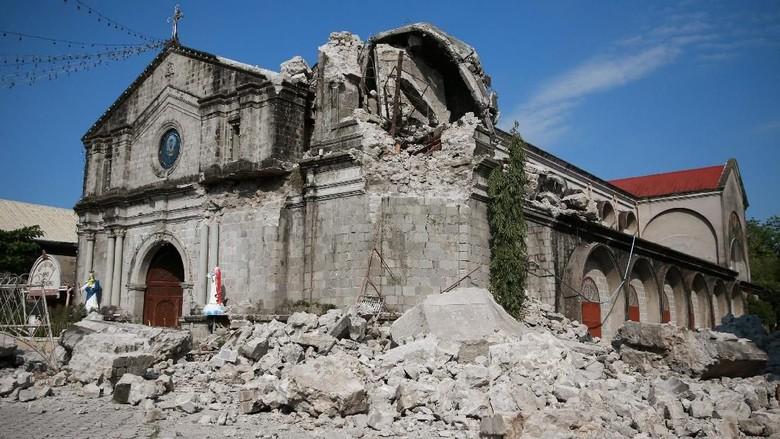Pencarian Terus Dilakukan, Korban Tewas Gempa Filipina Jadi 11 Orang