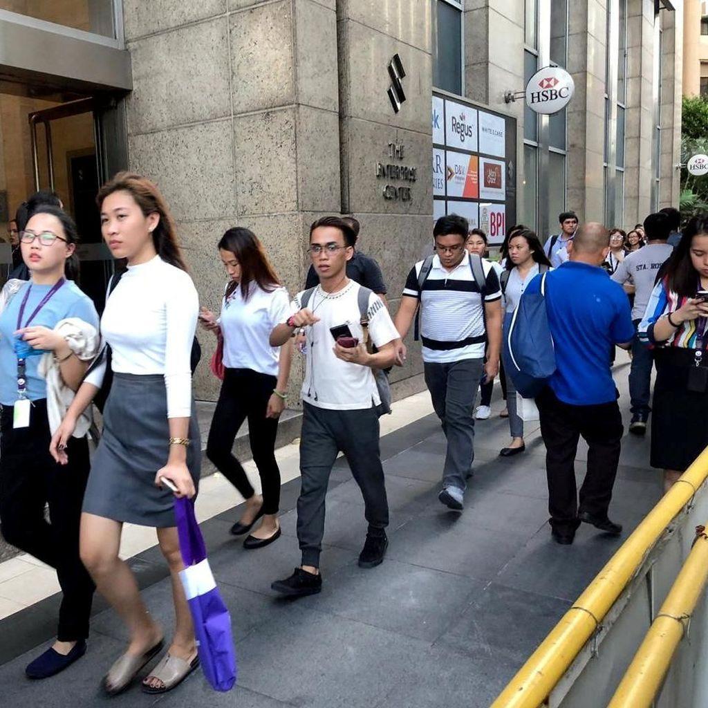 Korban Tewas Gempa Filipina Jadi 8 Orang, 20 Orang Terluka