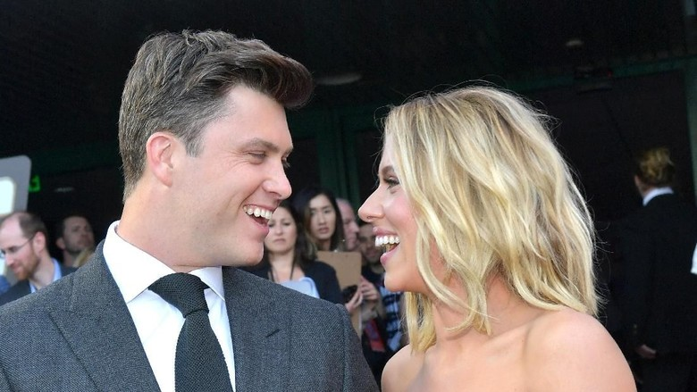 Scarlett Johansson - Colin Jost Foto: Amy Sussman/Getty Images