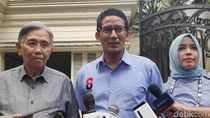 Sandiaga: Wagub DKI Diserahkan ke PKS, No More Discussion