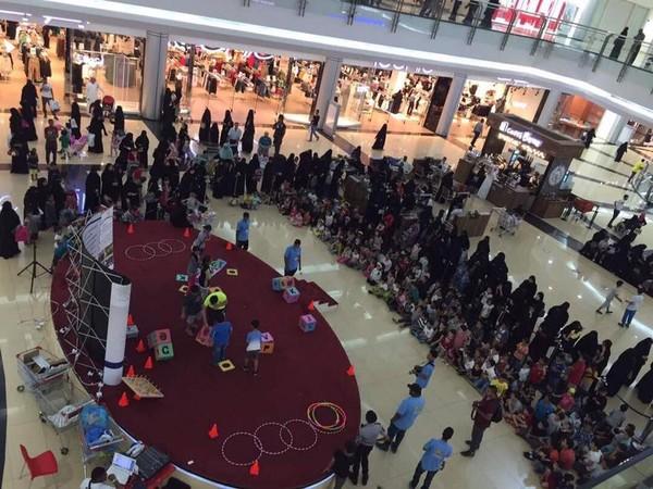 Sebagai pusat perbelanjaan, Al Qasr Mall juga sering mengadakan promo dan event menarik. (Al Qasr Mall/Facebook)