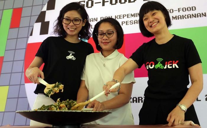 Go-Food menggelar Hari Kuliner Nasional (Harkulnas) 2019./Foto: Rengga Sancaya