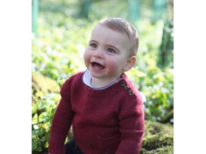 Pangeran Louis di Ulang tahun-nya yang pertama. Foto: Dok. Kensington Royal