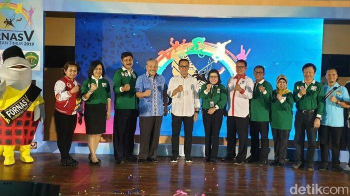 Kemenpora gelar Fornas 2019 di Samarinda (Amalia Dwi Septi/detikSport)