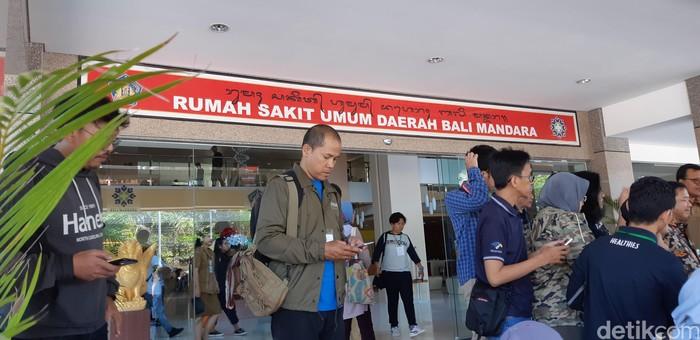 Begini penampakan dari Rumah Sakit Umum Daerah Bali Mandara. Rumah sakit ini masih rumah sakit tipe B, namun pelayanannya sudah cukup lengkap. Foto: Aisyah/detikHealth