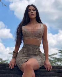 Kim Kardashian di Bali.