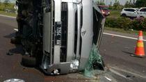 4 Jenazah Korban Kecelakaan di Cipali Dibawa ke RS Ciereng Subang
