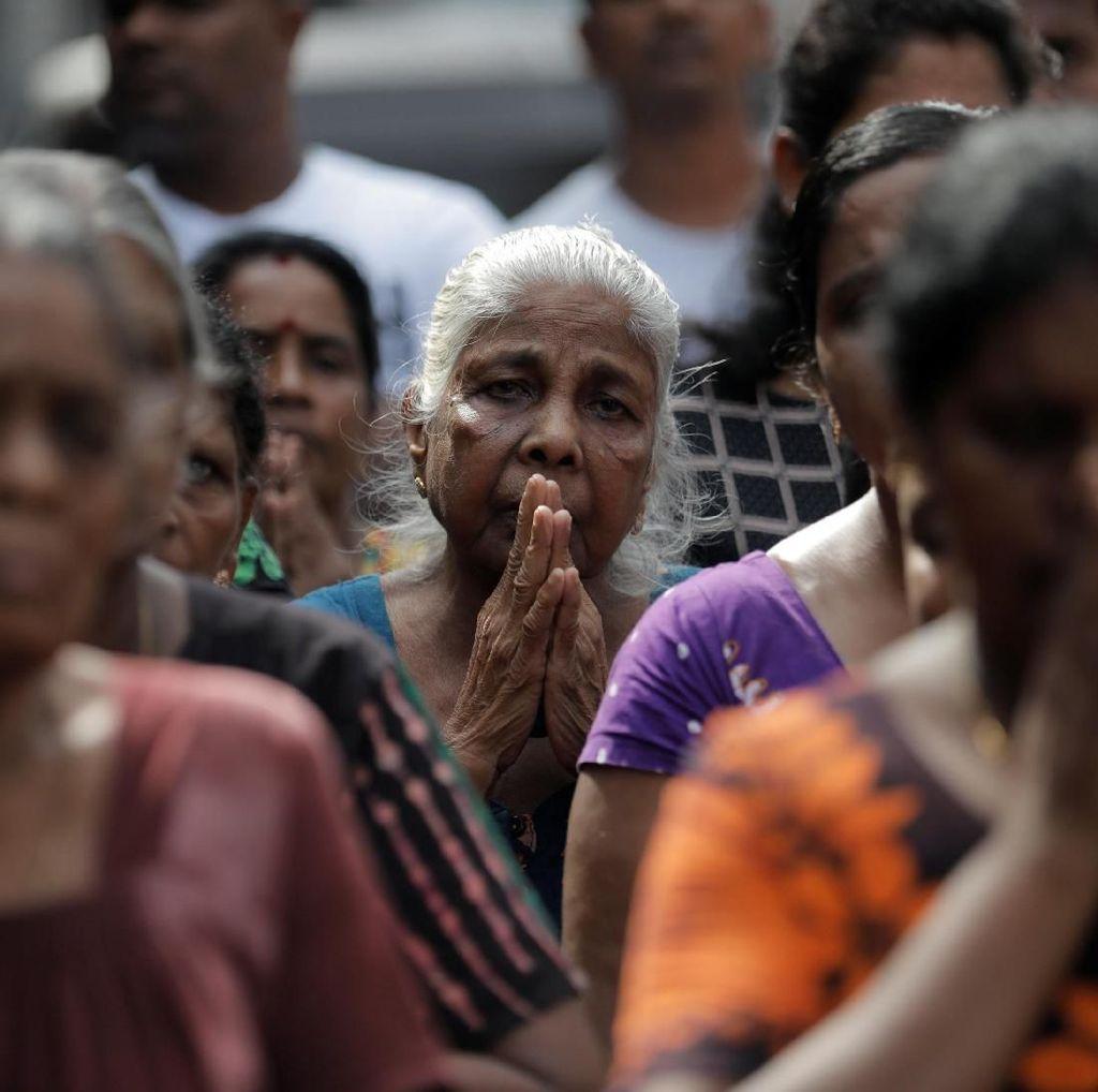 Seluruh Sri Lanka Hening 3 Menit untuk Korban Bom Paskah