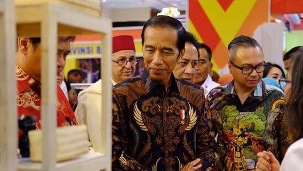 Jokowi Bicara Potensi Industri Kerajinan Tangan di INACRAFT