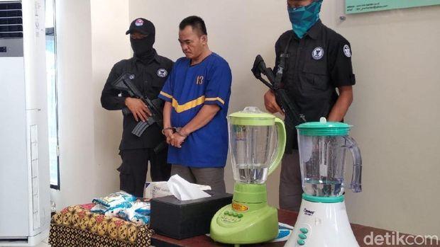 BNN Banten menangkap pria berinisial MH alias F (48)