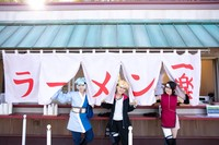 Spot lain yang dimiliki Naruto & Boruto Shinoi Zato yaitu restoran ternama Ramen Ichiraku. Setelah lelah bermain bisa langsung makan ramen enak ini. (Nijigen no Mori/Facebook/Twitter)