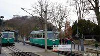 Kereta Drachenfelsbahn (Wahyu Setyo/detikcom)