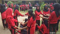 Foto: Asyiknya Permainan Tradisional Ala Kampung di Magelang