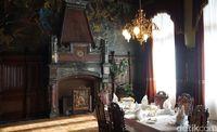 Interior megah Kastil Drachenburg (Wahyu Setyo/detikcom)