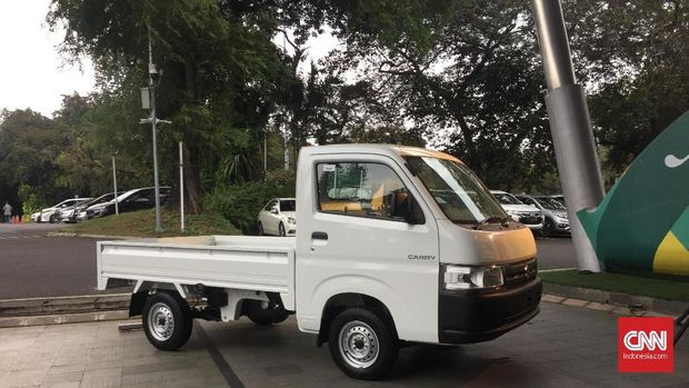 Suzuki Carry baru melantai di Indonesia International Motor Show (IIMS) 2019.
