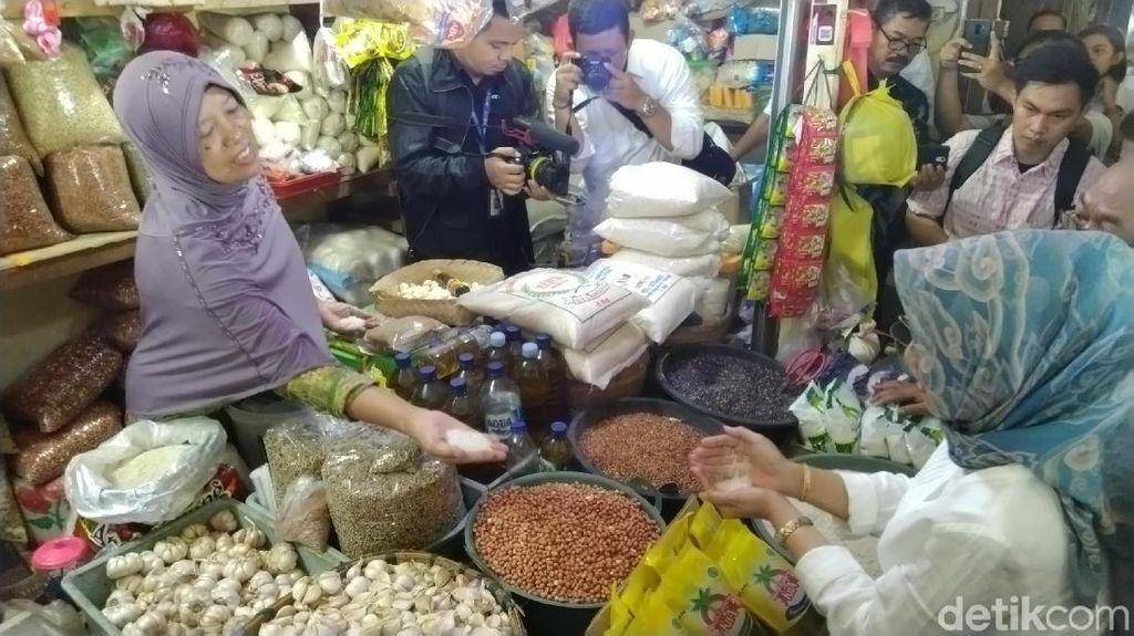 Jelang Puasa, Harga Bawang Putih di Semarang Menanjak