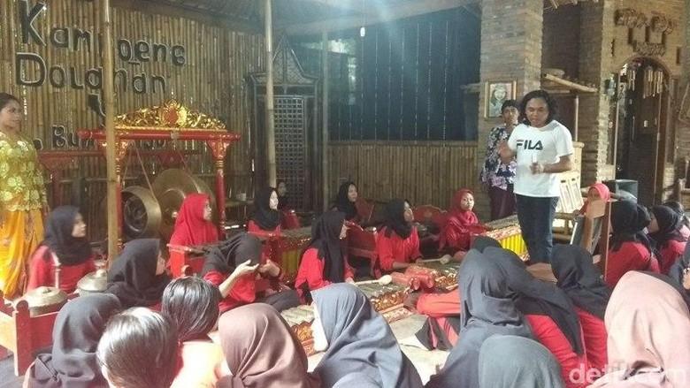 Kampoeng Dolanan Nusantara di Magelang (Eko/detikcom)