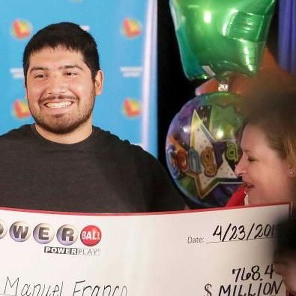 Pria Amerika Ini Menang Lotere Lebih dari Rp 1 Triliun