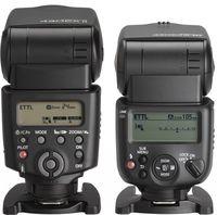 Awalnya saya perlu beradaptasi dengan perubahan desain tombol antara 430EX II (kiri) dengan 430 EX III-RT (kanan). Tapi desain baru di 430EX III ini menarik, intuitif dan lebih cepat untuk mengganti setting.