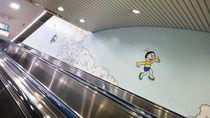 Foto: Stasiun Kereta Ini Punya Pintu Ke Mana Saja