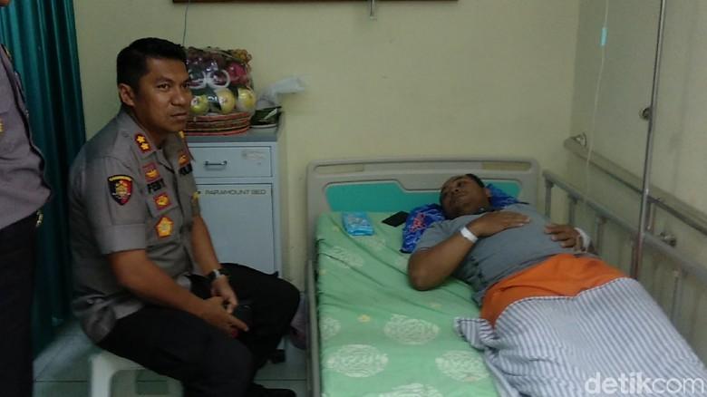 Seorang Polisi di Lamongan Tumbang Karena Kelelahan Kawal Pemilu