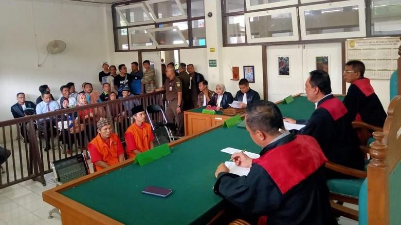 Kata Hakim soal Vonis Mati 2 Pembunuh Sopir Taksi Online