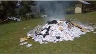 Polres Puncak Jaya: Surat Suara yang Dibakar Warga Tak Diperlukan Lagi