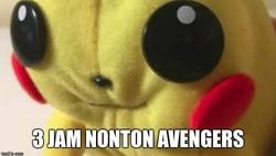 Film Avengers: Endgame di bioskop memiliki durasi sampai tiga jam. Beberapa fan yang khawatir harus menahan kencing selama itu memunculkan meme kocak.